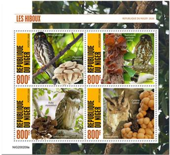 n° 5863/5866 - Timbre NIGER Poste