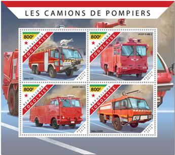 n° 7627/7630 - Timbre TOGO Poste