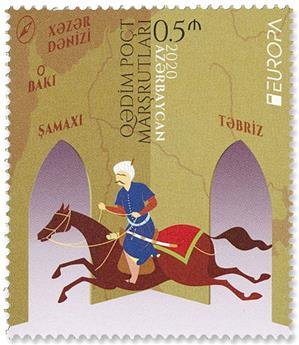 n° 1236/1237 - Timbre AZERBAIDJAN Poste