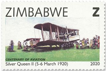 n° 826/829 - Timbre ZIMBABWE Poste