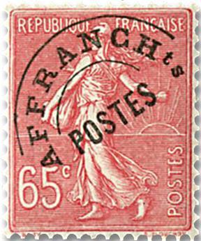 n.o 48 -  Sello Francia Precancelados
