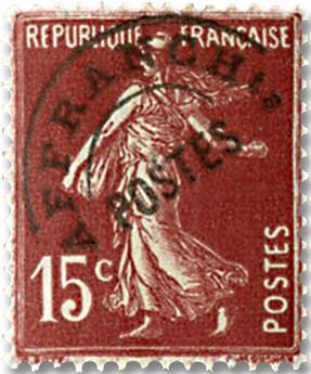 n.o 53 -  Sello Francia Precancelados