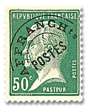 n° 68 -  Selo França Pré-obliterados