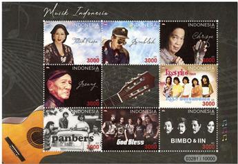n° 3039 - Timbre INDONESIE Poste