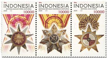n° 3053/3055 - Timbre INDONESIE Poste
