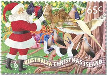 n° 946/947 - Timbre CHRISTMAS (ILE) Poste
