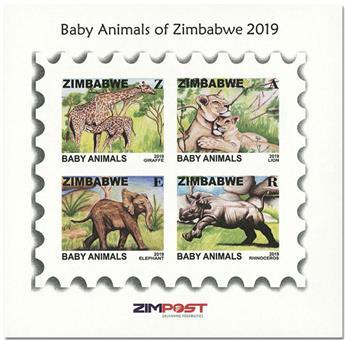 n° 37 - Timbre ZIMBABWE Blocs et feuillets