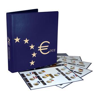 Album 2 Euros commémoratifs (2009-2011) - MARINI® (Nouveau design)