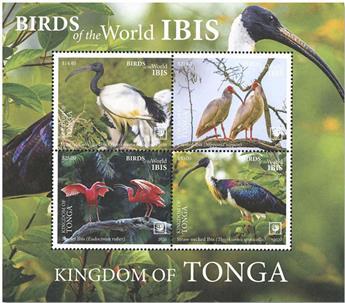n° 118 - Timbre TONGA Blocs et feuillets
