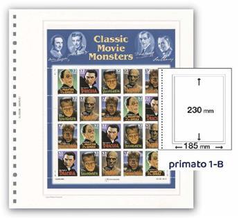 FEUILLES PRIMATO 1 POCHE / 1-B  (PAR 6)