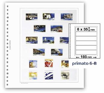 FEUILLES PRIMATO 6 BANDES / 6-B (PAR 6)