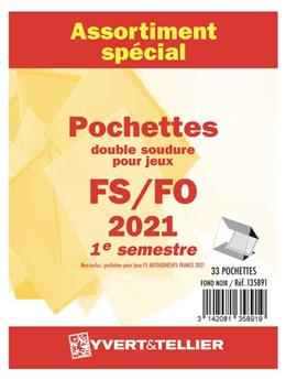 Assortiment de pochettes (double soudure) : 2021-1er semestre