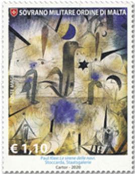 n° 1558/1560 - Timbre ORDRE de MALTE Poste