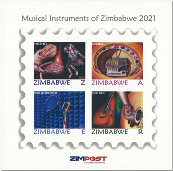 n° 39 - Timbre ZIMBABWE Blocs et feuillets