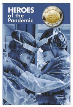 BU : 2 EURO COMMEMORATIVE 2021 : MALTE (Héros de la pandémie)