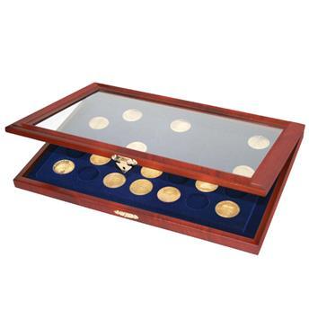 Vitrine en bois pour 35 Médailles-Souvenir (SAFE)