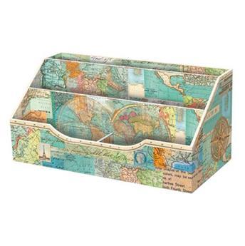 Range-courrier World Atlas