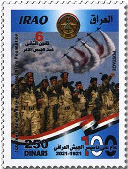 n° 1925/1928 + BF n° 153 - Timbre IRAK Poste