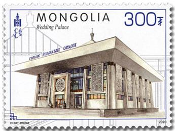 n° 3135/3138 - Timbre MONGOLIE Poste