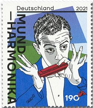 n° 3379 - Timbre ALLEMAGNE FEDERALE Poste