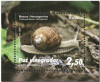 n° 73 - Timbre BOSNIE-HERZEGOVINE Blocs et feuillets