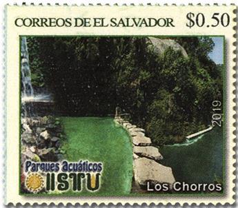 n° 1966/1969 - Timbre SALVADOR Poste