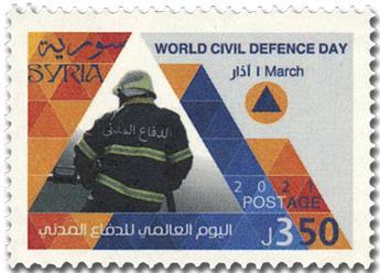 n° 1699 - Timbre SYRIE (après indépendance) Poste