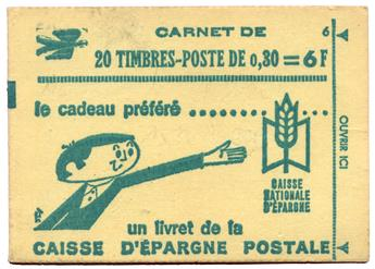 n°1536A-C1** - Timbre FRANCE Carnets
