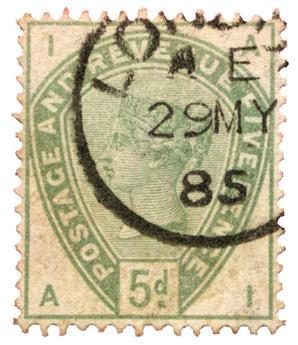 n°82 obl. - Timbre GRANDE-BRETAGNE  Poste