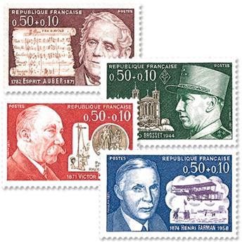 nr. 1667/1670 -  Stamp France Mail