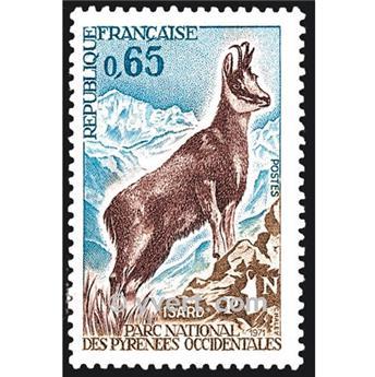 n° 1675 -  Selo França Correios