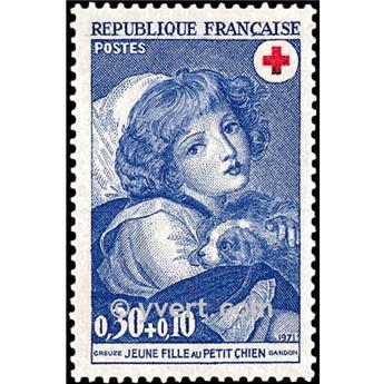 nr. 1700 -  Stamp France Mail