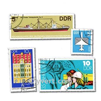 ALEMANHA: lote de 1000 selos