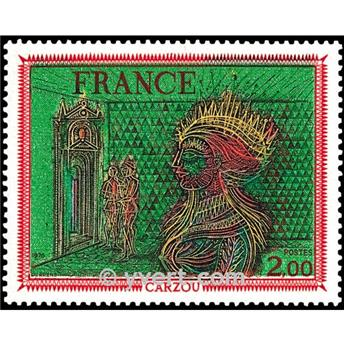 n° 1900 -  Selo França Correios