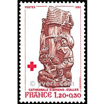 n.o 2116 -  Sello Francia Correos
