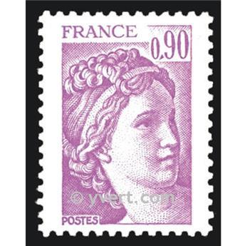 n.o 2120 -  Sello Francia Correos