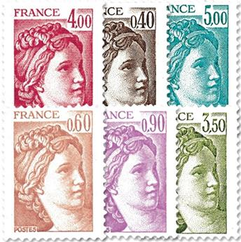n° 2118/2123 -  Timbre France Poste