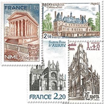 n.o 2132 / 2135 -  Sello Francia Correos