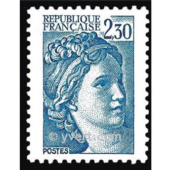 n° 2156 -  Selo França Correios