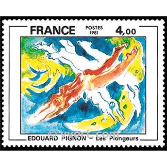 n° 2168 -  Selo França Correios