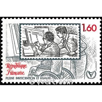 n° 2173 -  Selo França Correios