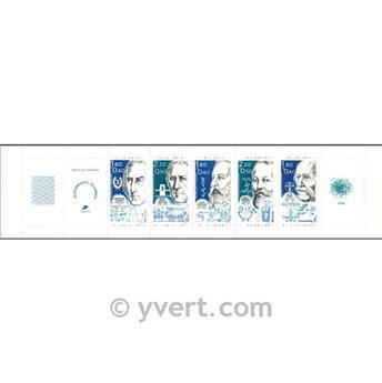 n° BC2400A -  Selo França Carnet Personalidades