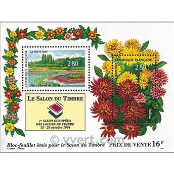 n° 16 -  Selo França Blocos e folhinhas