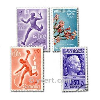 POSS ITALIENNES : pochette de 100 timbres