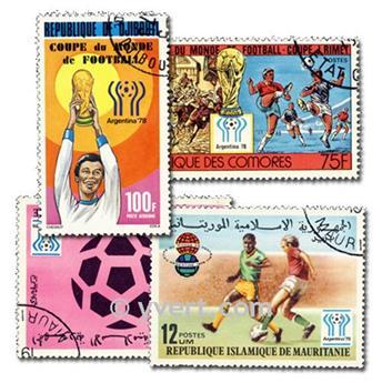 ARGENTINE : pochette de 500 timbres
