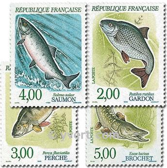 n° 2663/2666 -  Selo França Correios
