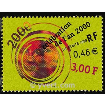 n° 3259 -  Selo França Correios