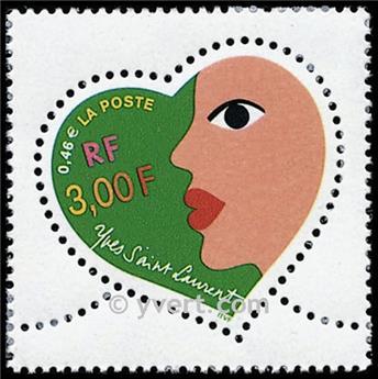 n° 3296 -  Selo França Correios