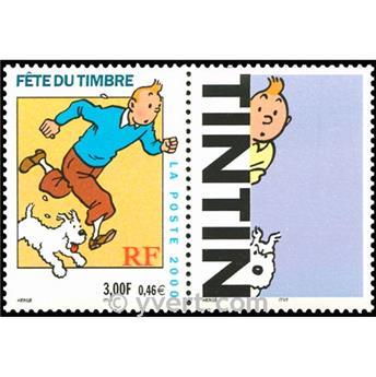 n° 3303b -  Selo França Correios