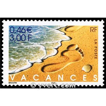 n.o 3400 -  Sello Francia Correos